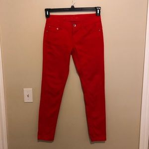 Authentic 579 Jeanswear Size 7 Red